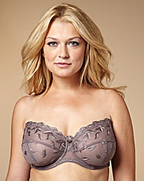Mocha Worlds Largest Strapless Bra