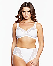 Ava Black White Non Wired Bra Pack