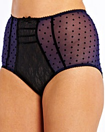 Simply Yours Velvet Spot Knickers