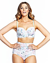 Simply Yours Pastel Floral Midi Bra