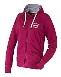 Slazenger Ladies Hooded Top