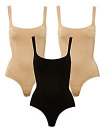 JML Belvia Underbust Bodysuit -Pack of 3
