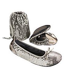 Sole Diva Sequin After Party Shoe E Fit