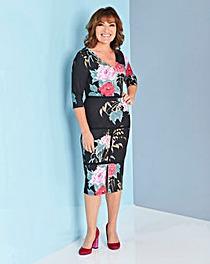 Lorraine Kelly Floral Midi Dress