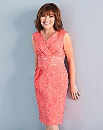 Lorraine Kelly Coral Tulip Dress