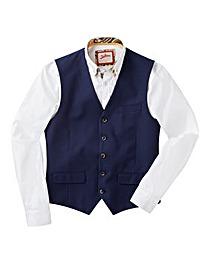 Joe Browns Mini Check Suit Waistcoat Reg