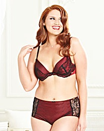 Splendour Underwired Padded Plunge Bra