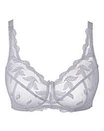 Shapely Figures White Ava Non-Wired Bra
