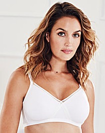 2 Pack Cotton Rich NonWired Ivory Bras