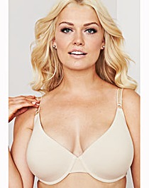 2 Pack T Shirt Wired Natural/White Bras