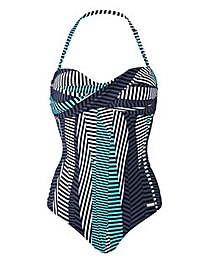 Sunseeker Twist Bandeau Swimsuit