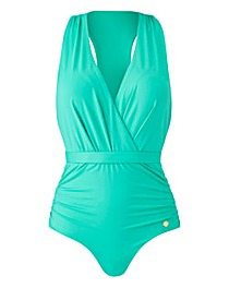 Sunseeker Cross Front Plunge Swimsuit