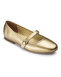 The Shoe Tailor Bar Ballerina Shoes E