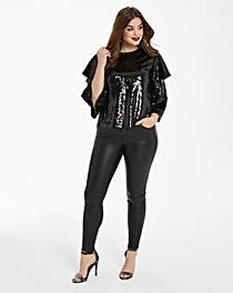 Fashion Union Sequin Blouse