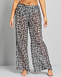 Simply Yours Sheer Palazzo Pants