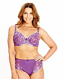 Shapely Figures Purple Ava Full Cup Bra
