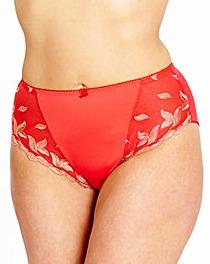Full Fitting Ava Knicker Red