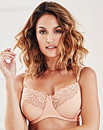 2 Pack Full Cup Wired Natural/Black Bras