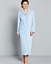 Pretty Secrets Fleece Button Gown 48in