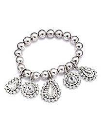 JOANNA HOPE Diamante Stretch Bracelet