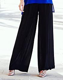 Joanna Hope Crinkle Palazzo Trousers