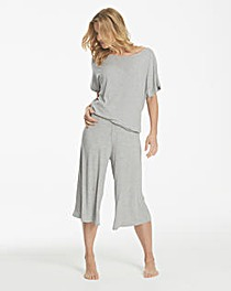 Pretty Secrets Ribbed Culotte Loungewear