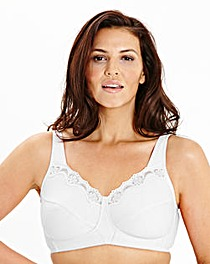 2 Pack Sarah NonWired White Bras