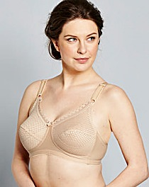 Miss Mary Non Wired Bra Skintone