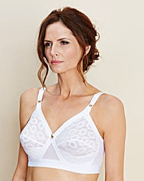 Playtex Beauty Lift Non Wired White Bra