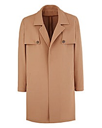 Lightweight Duster Coat - Camel