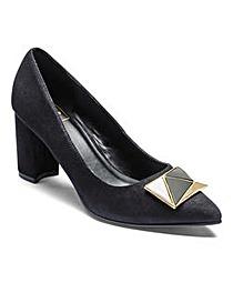 Sole Diva Trim Court Shoes E Fit