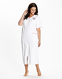 Pretty Secrets Velour Zip Gown, L42