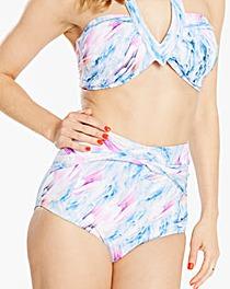 Beach to Beach High Waist Bikini Brief