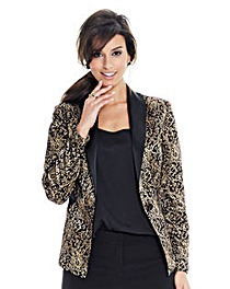 Joanna Hope Jacquard Jacket