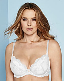 Gossard Superboost lace Plunge White Bra