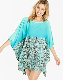 Simply Yours Ombre Print Kaftan