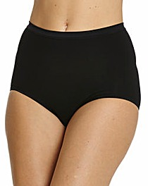 Naturally Close Pack of 3 Maxi Briefs