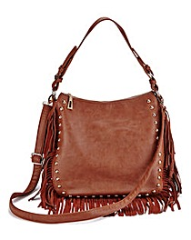 JOANNA HOPE Tassel and Stud Detail Bag