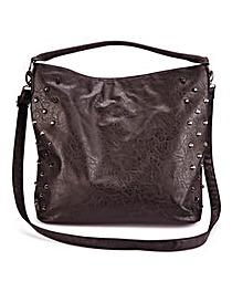 Studded Slouch Shopper Bag