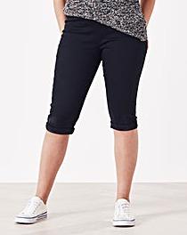 Simply Be Denim Pull-On Denim Shorts