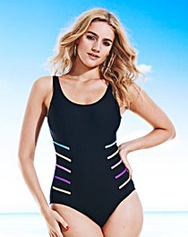 Beach To Beach Sporty Swimsuit