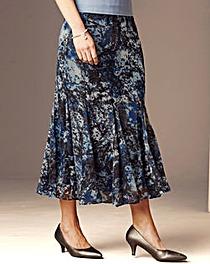 Nightingales Godet Chiffon Skirt