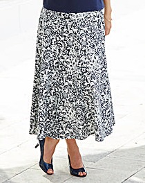 Nightingales Linen Skirt