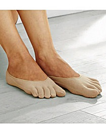 Pair of Toe Socklets 3 Pack