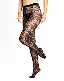 Christmas Baroque Fashion Tights