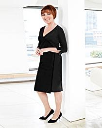 Lorraine Kelly Plain ITY Wrap Dress