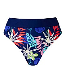 Simply Yours Contrast Band Bikini Brief