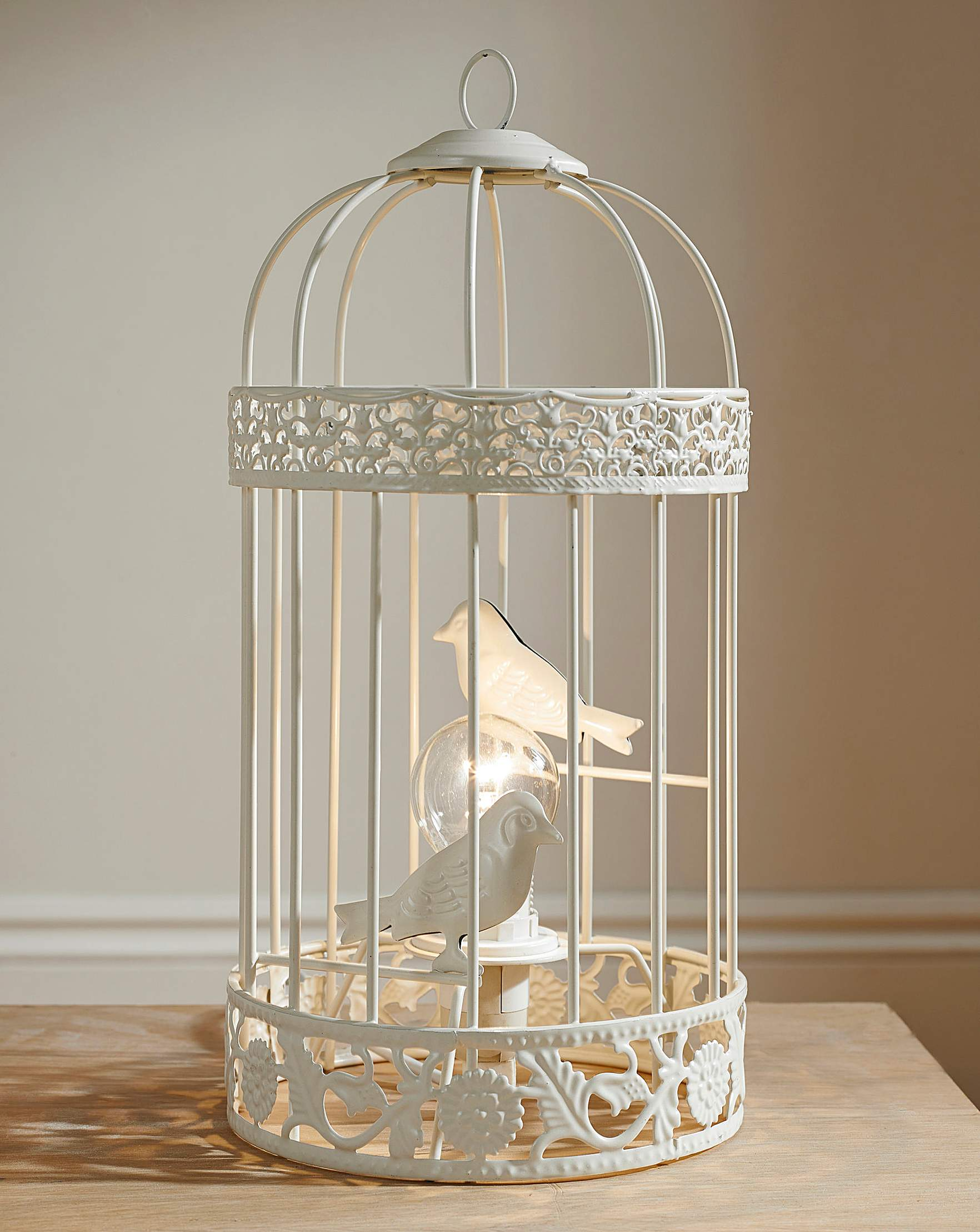 Birdcage table lamp jacamo geotapseo Image collections
