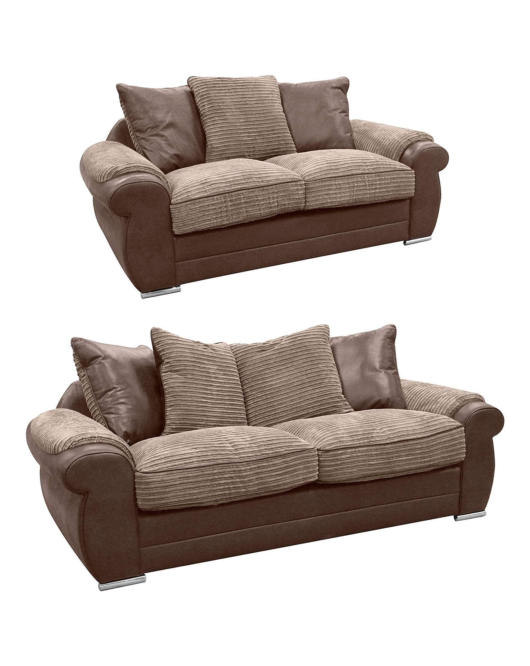Adelaide Two And Three Seater Sofa | Jacamo