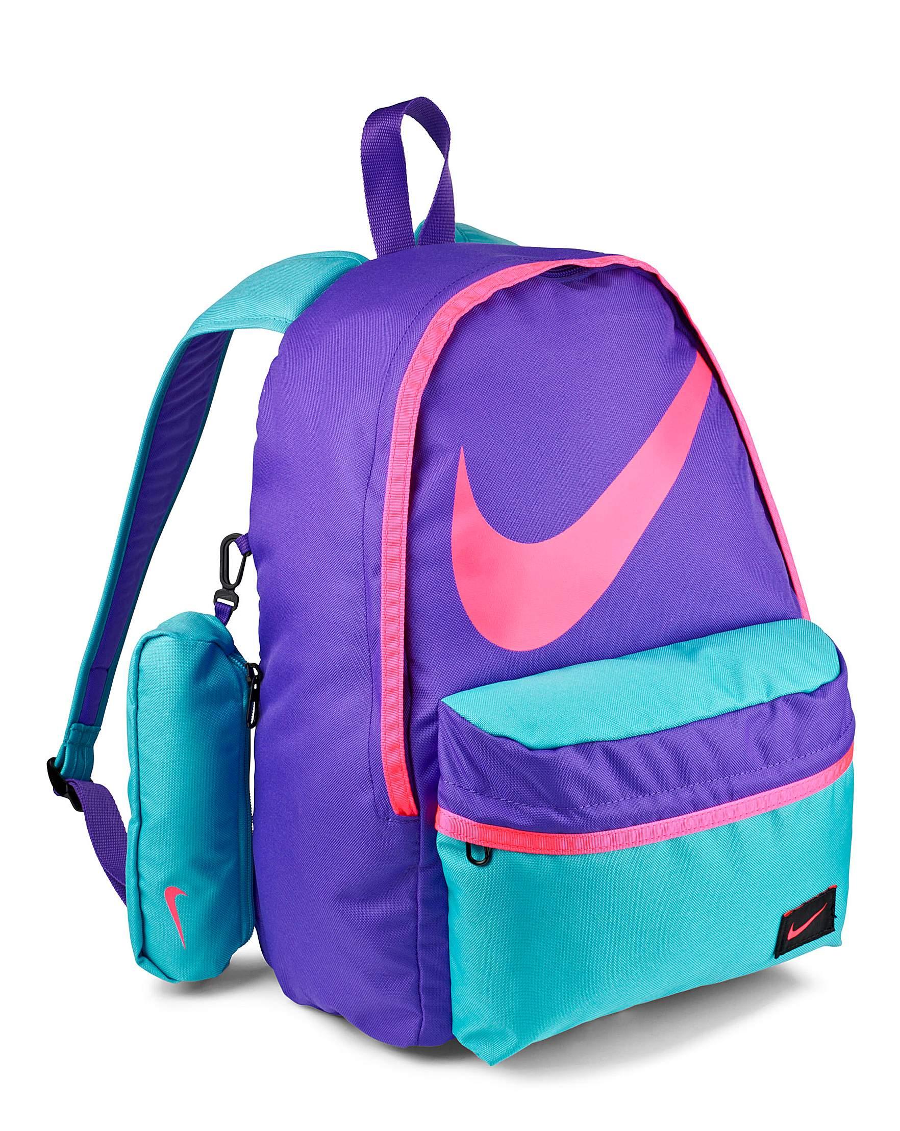 nike school backpacks purple